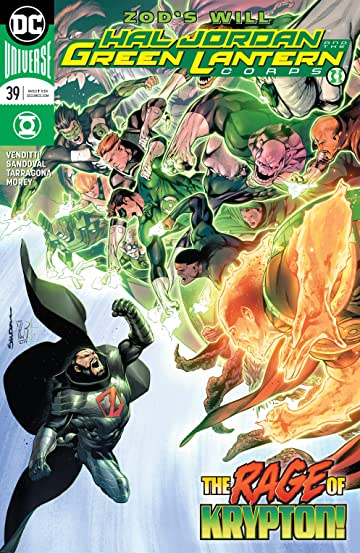 Hal Jordan and The Green Lantern Corps (2016-) No.39