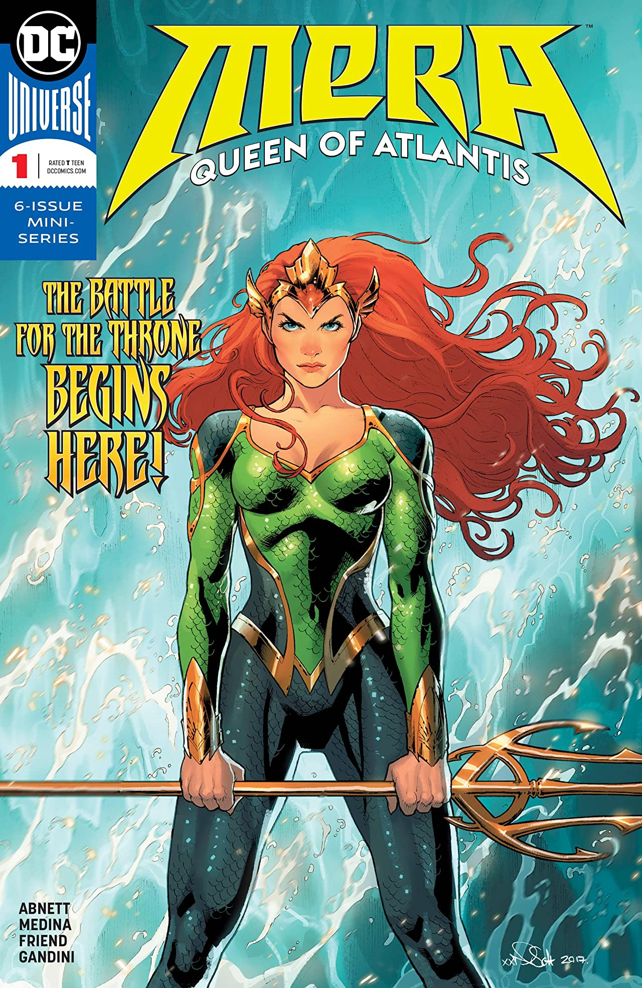 Mera: Queen of Atlantis (2018-) No.1
