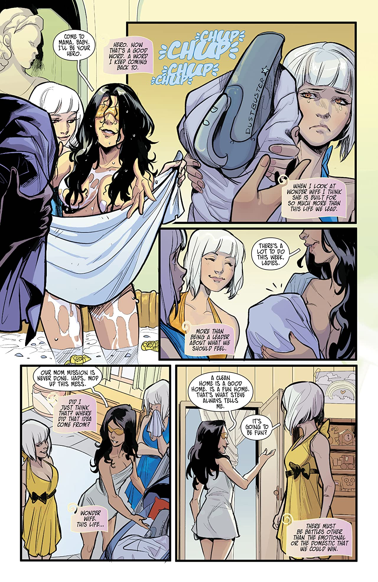 Shade, the Changing Girl/Wonder Woman Special (2018) #1