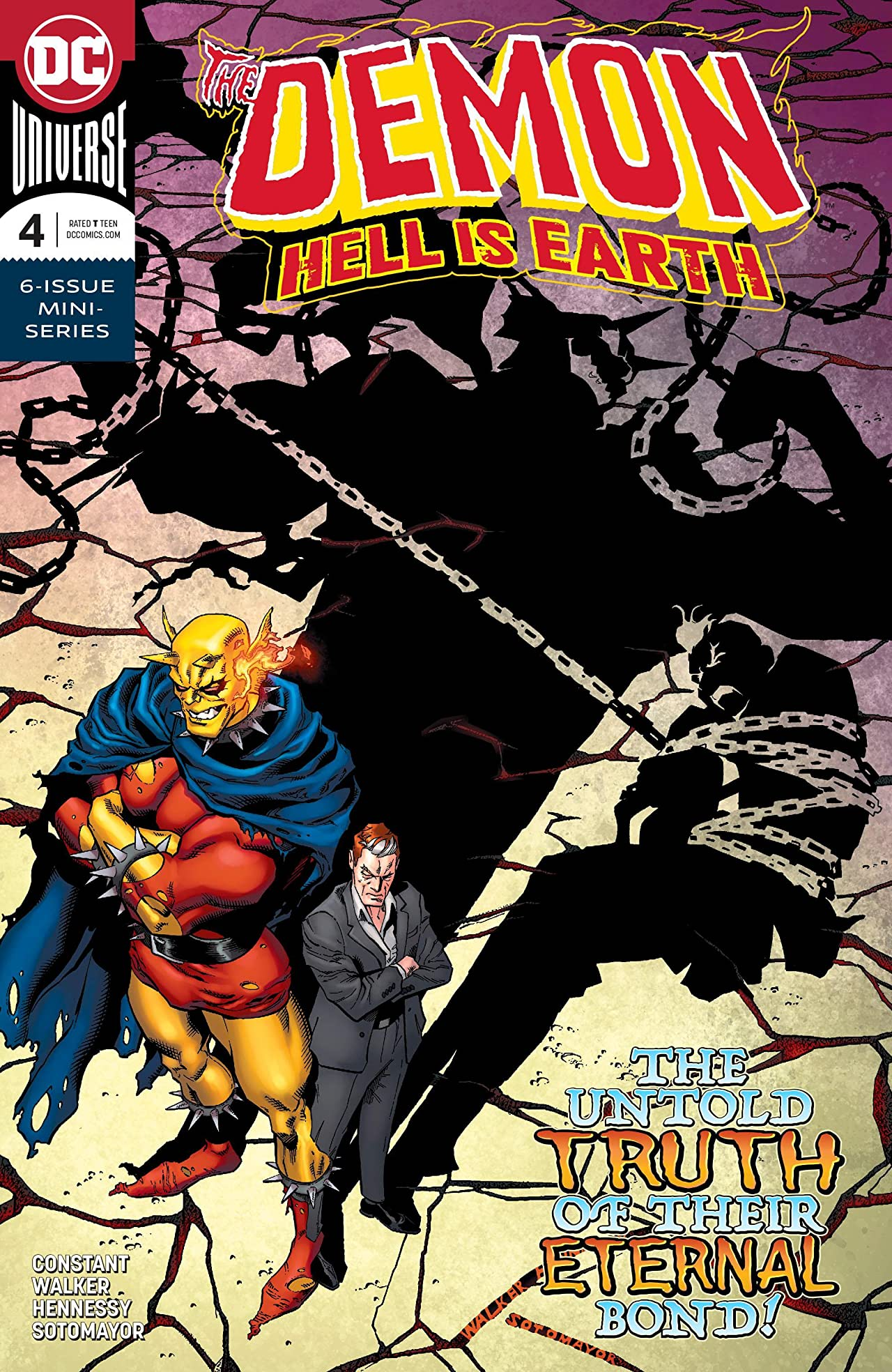The Demon: Hell is Earth (2017-2018) #4