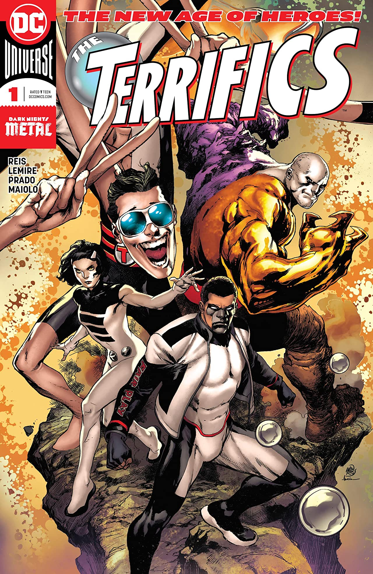The Terrifics (2018-) No.1