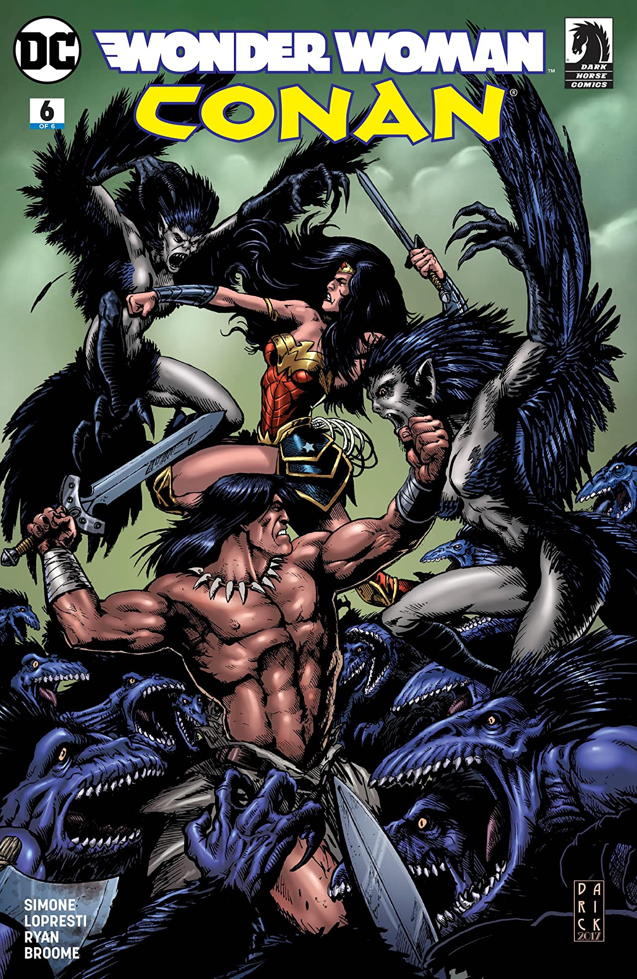 Wonder Woman/Conan (2017-) #6