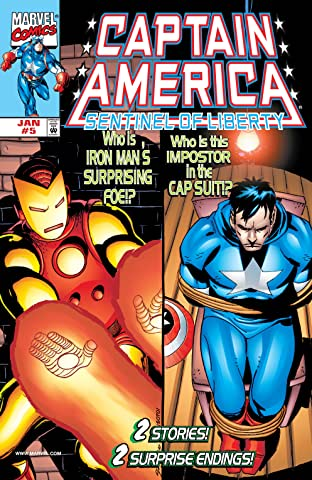 Captain America: Sentinel of Liberty (1998-1999) No.5