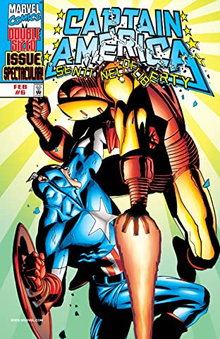 Captain America: Sentinel of Liberty (1998-1999) No.6