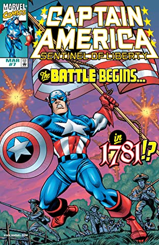 Captain America: Sentinel of Liberty (1998-1999) No.7