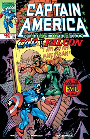 Captain America: Sentinel of Liberty (1998-1999) No.8