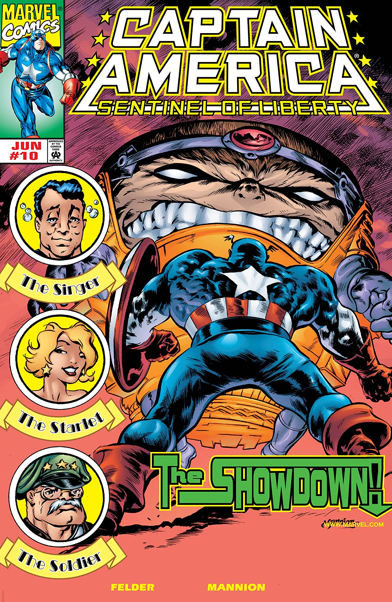 Captain America: Sentinel of Liberty (1998-1999) #10