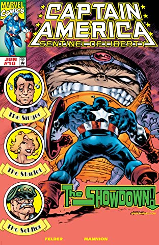 Captain America: Sentinel of Liberty (1998-1999) No.10