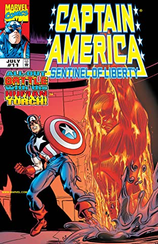 Captain America: Sentinel of Liberty (1998-1999) No.11