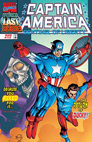 Captain America: Sentinel of Liberty (1998-1999) No.12