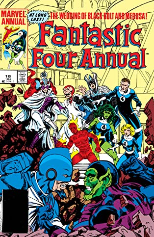 Fantastic Four (1961-1998) Annual #18