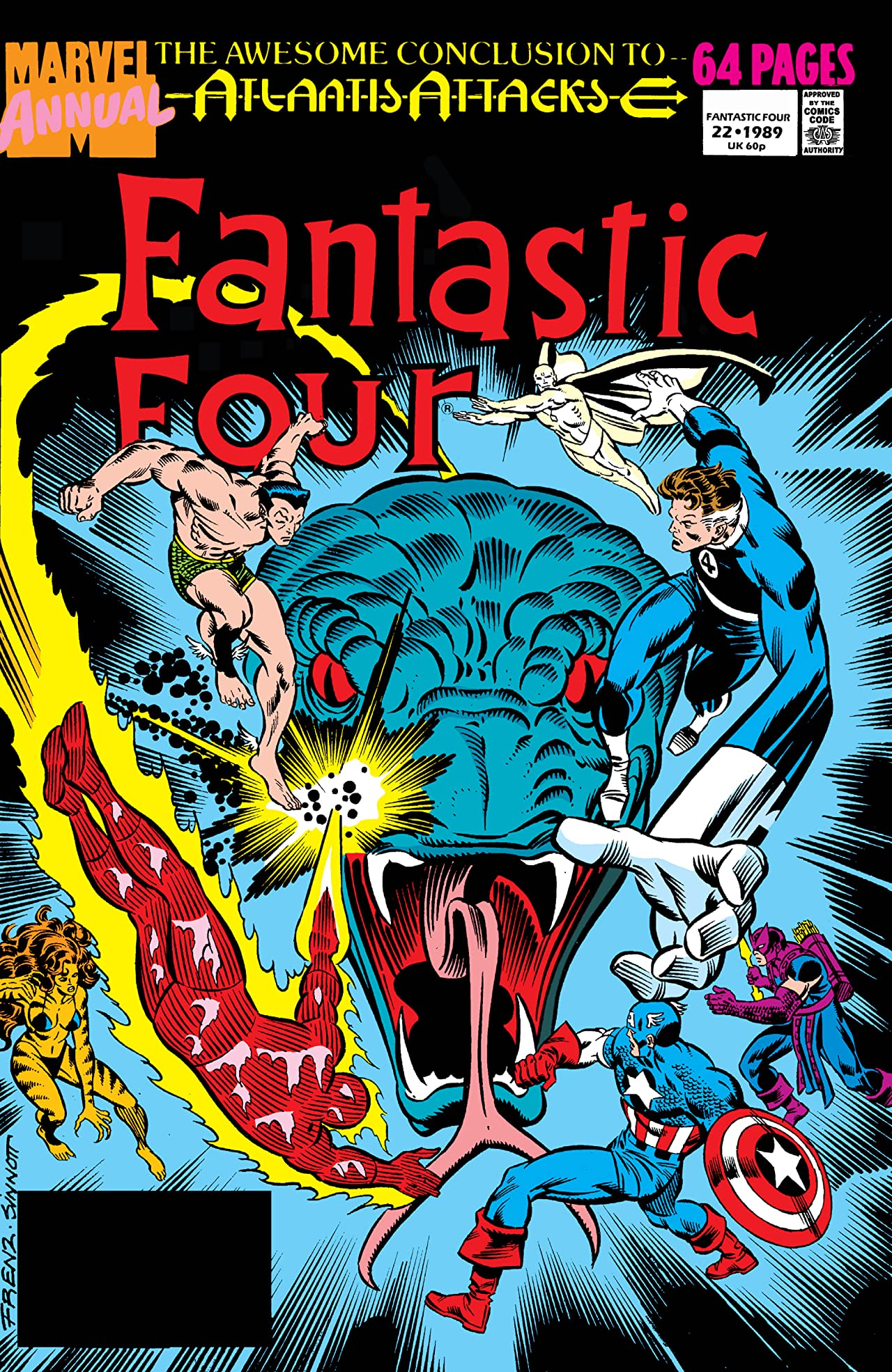 Fantastic Four (1961-1998) Annual #22