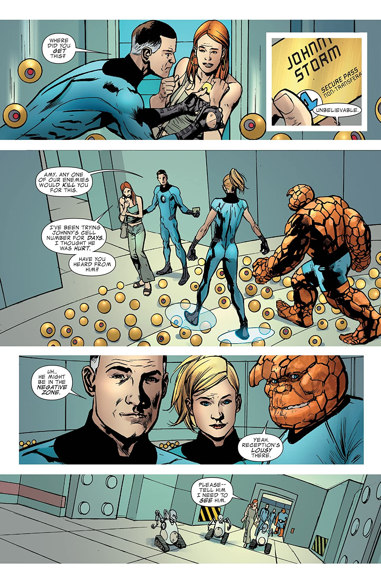 Fantastic Four (1998-2012) Annual #32