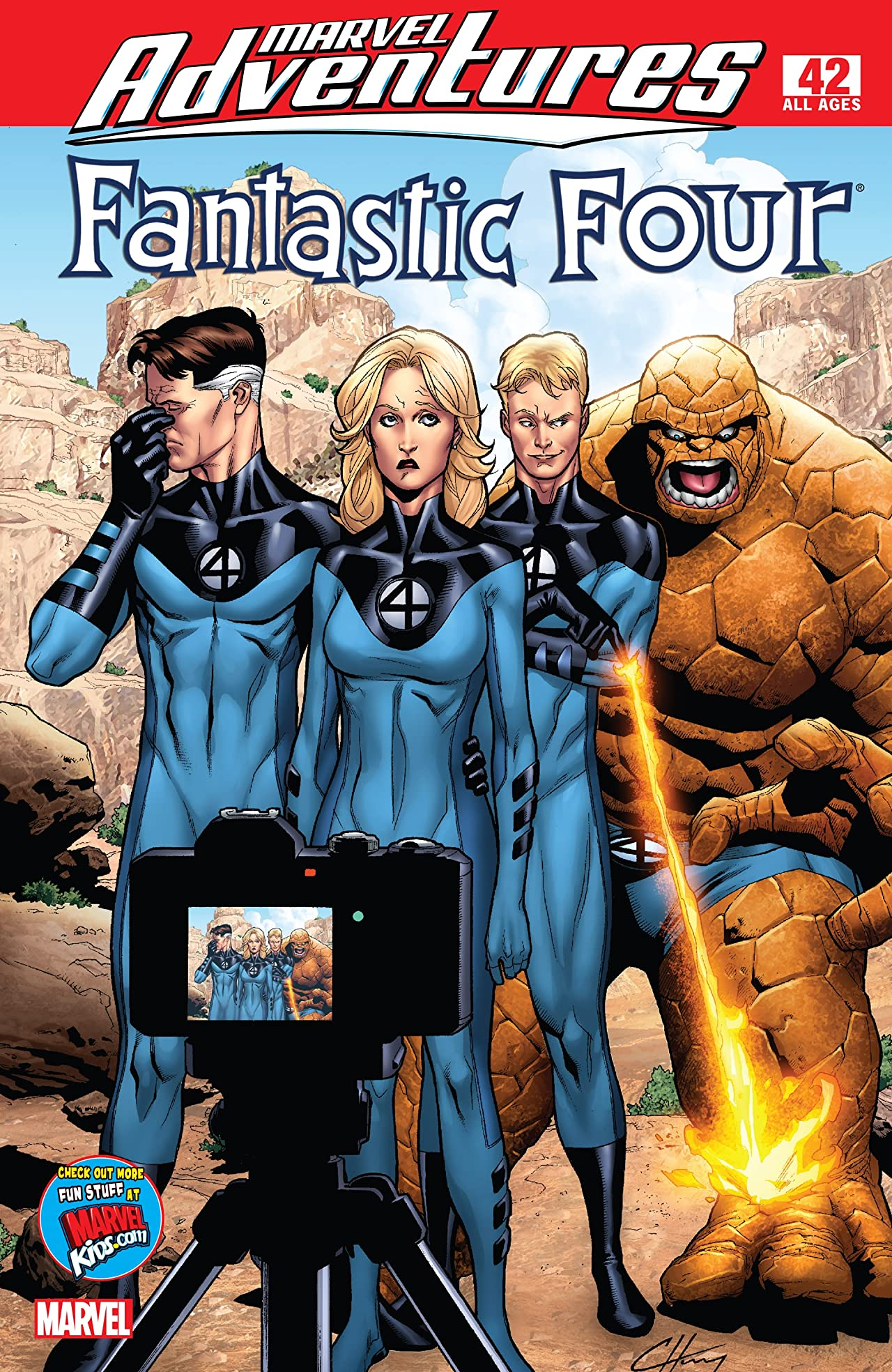 Marvel Adventures Fantastic Four (2005-2009) #42