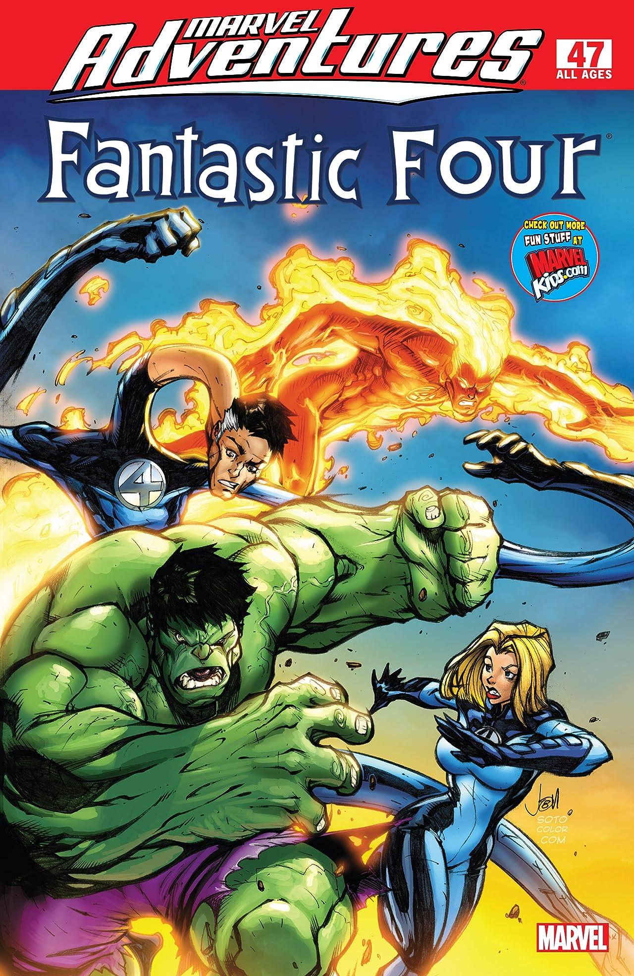 Marvel Adventures Fantastic Four (2005-2009) #47