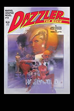 Marvel Graphic Novel (1982) #12: Dazzler The Movie