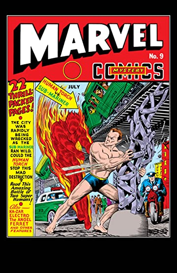 Marvel Mystery Comics (1939-1949) #9