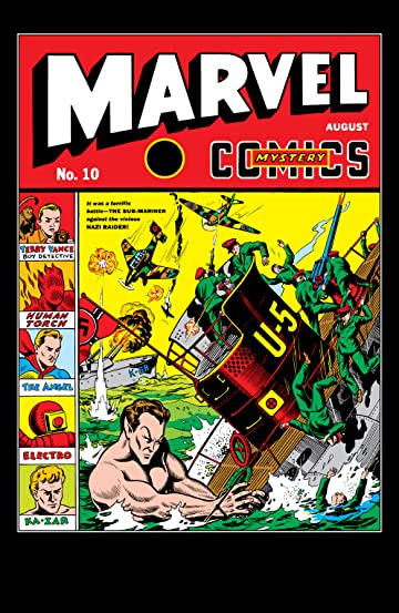 Marvel Mystery Comics (1939-1949) #10