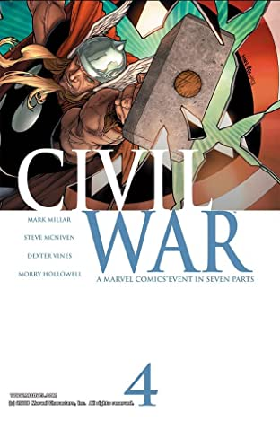 Civil War No.4 (sur 7)
