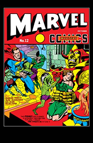 Marvel Mystery Comics (1939-1949) #12