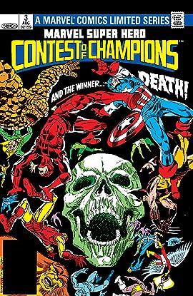 Marvel Super Hero Contest of Champions (1982) #3 (of 3)