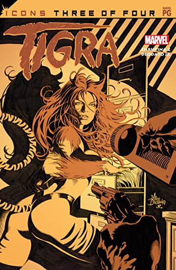 Avengers Icons: Tigra (2002) #3