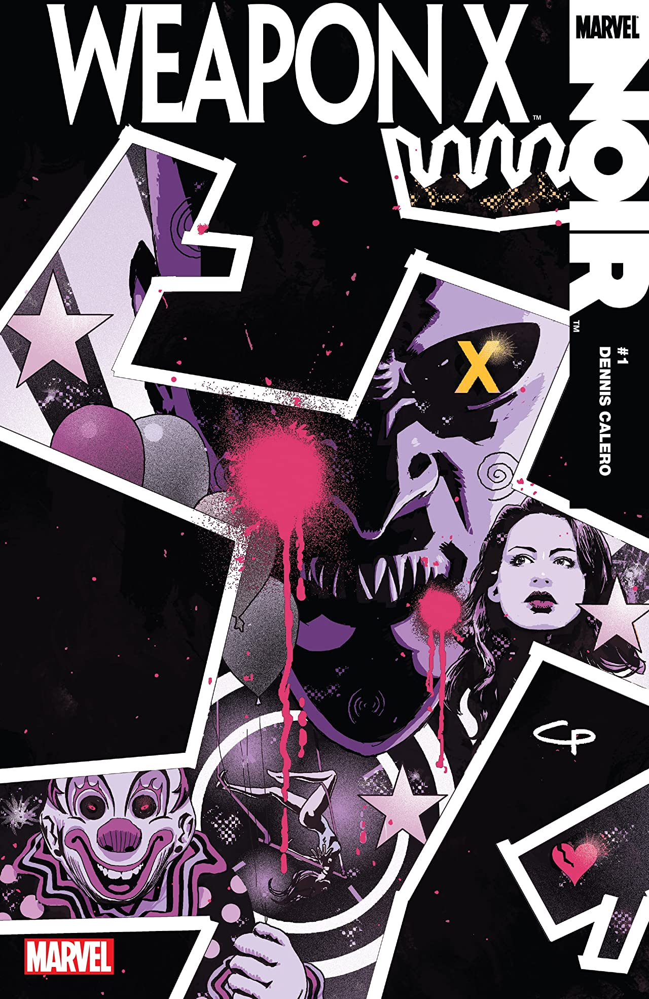 Weapon X Noir (2010) #1