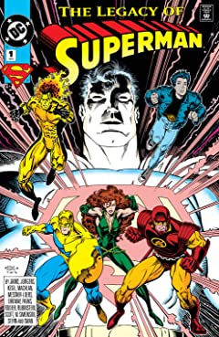 Superman: Legacy of Superman (1993) No.1