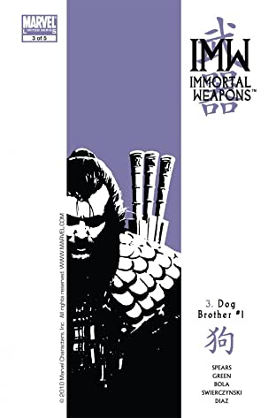 Immortal Weapons No.3 (sur 5)