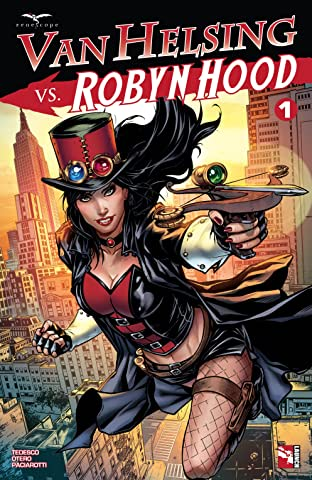Van Helsing vs. Robyn Hood No.1