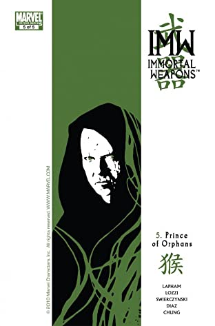 Immortal Weapons No.5 (sur 5)
