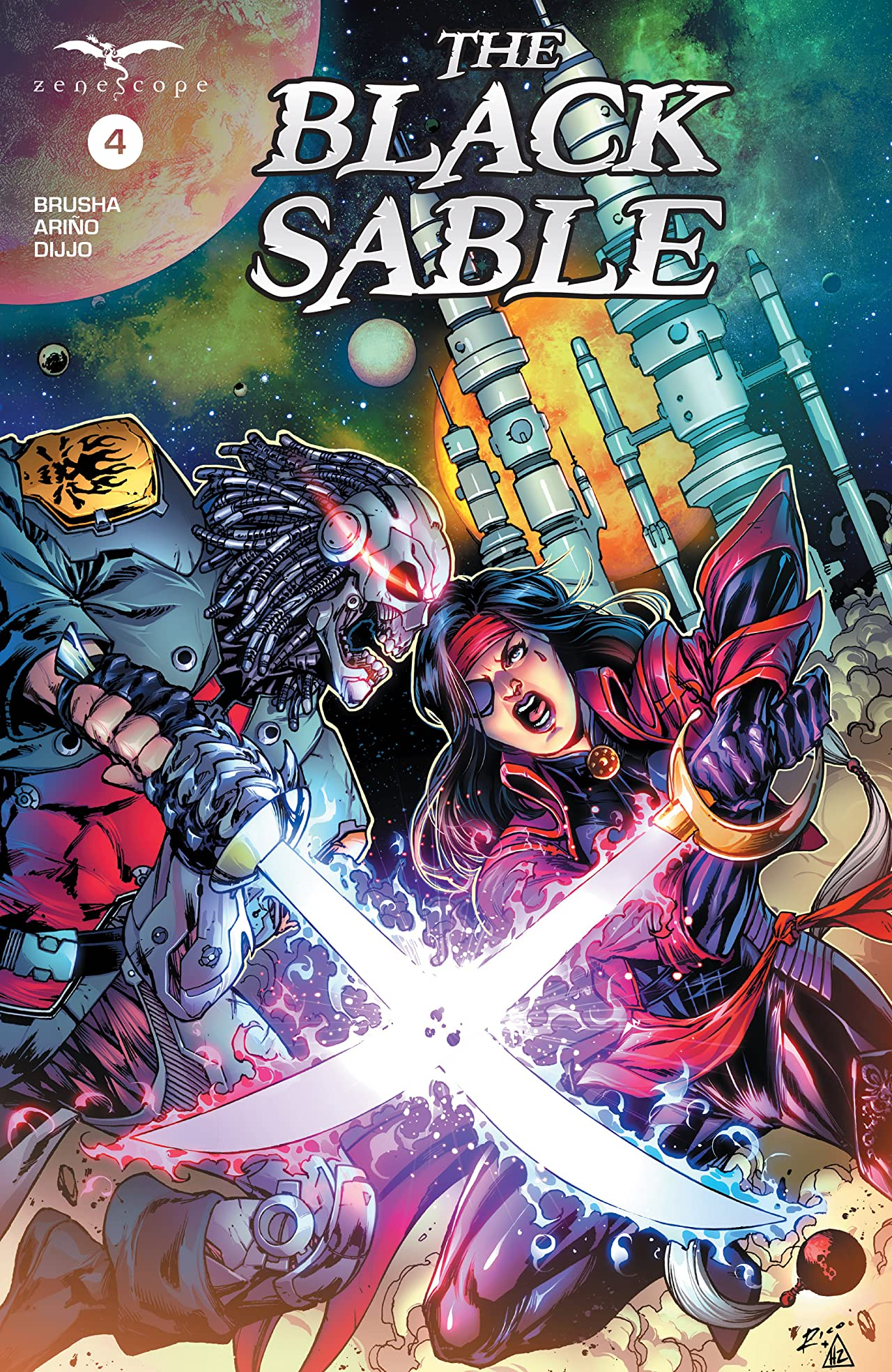 The Black Sable #4