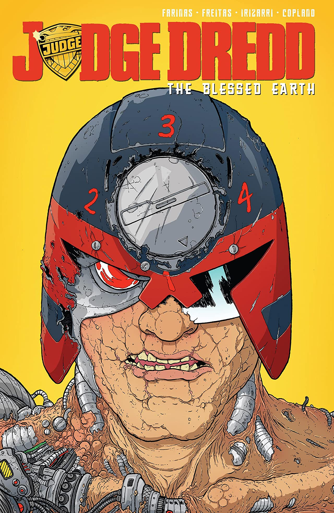 Judge Dredd: The Blessed Earth Vol. 2