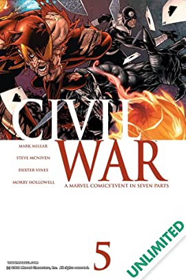 Civil War #5 (of 7)