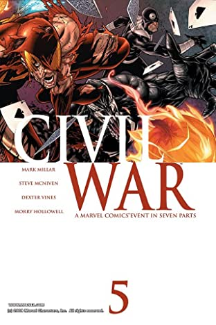 Civil War No.5 (sur 7)