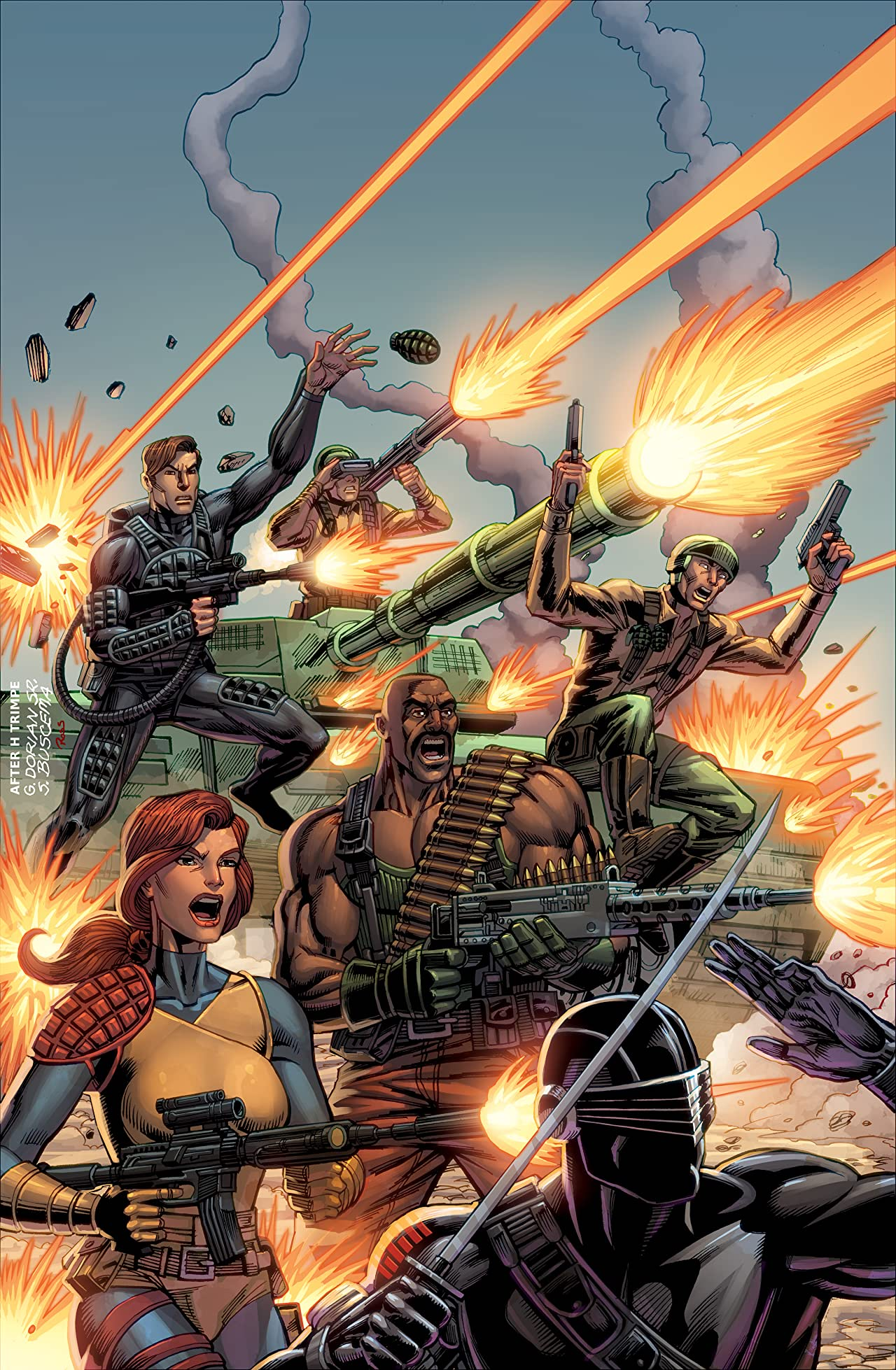 G.I. Joe: A Real American Hero #1: Anniversary Edition