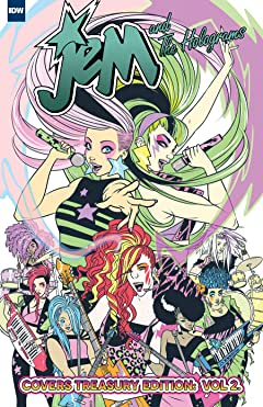 Jem and the Holograms Covers Treasury Edition Vol. 2