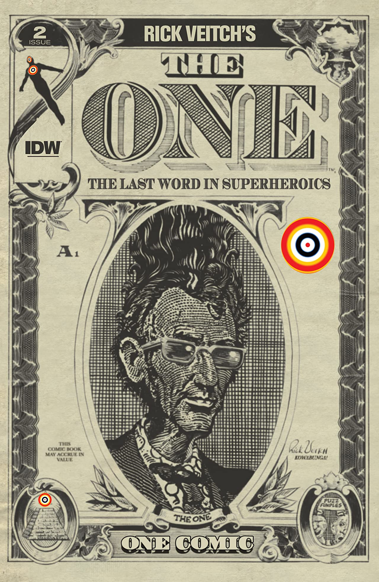 Rick Veitch's The One #2 (of 6)