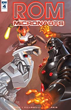 ROM & The Micronauts #4
