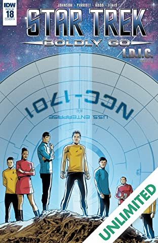 Star Trek: Boldly Go #18