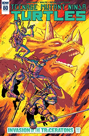 Teenage Mutant Ninja Turtles #80