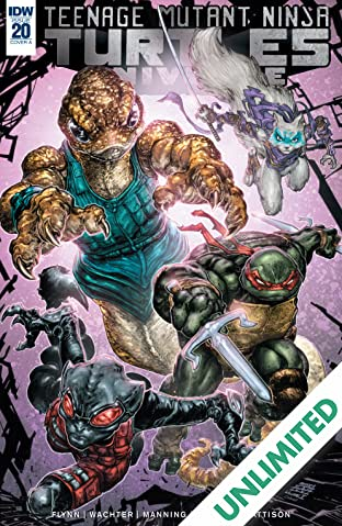 Teenage Mutant Ninja Turtles Universe #20