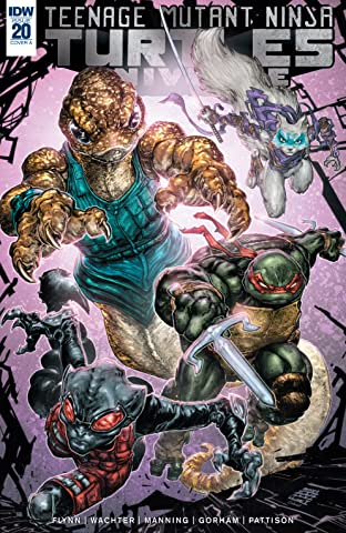 Teenage Mutant Ninja Turtles Universe No.20