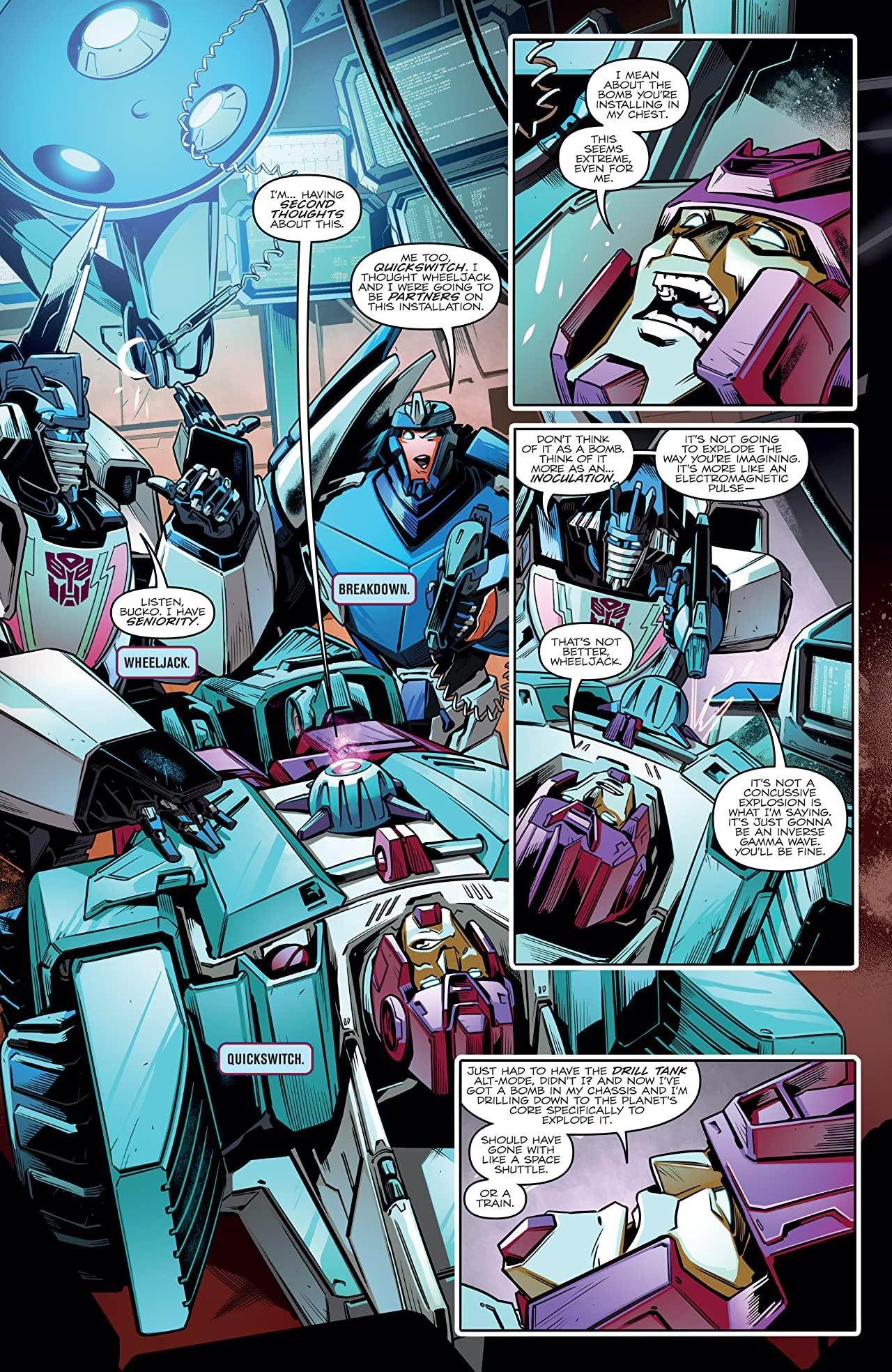Transformers vs. The Visionaries #4