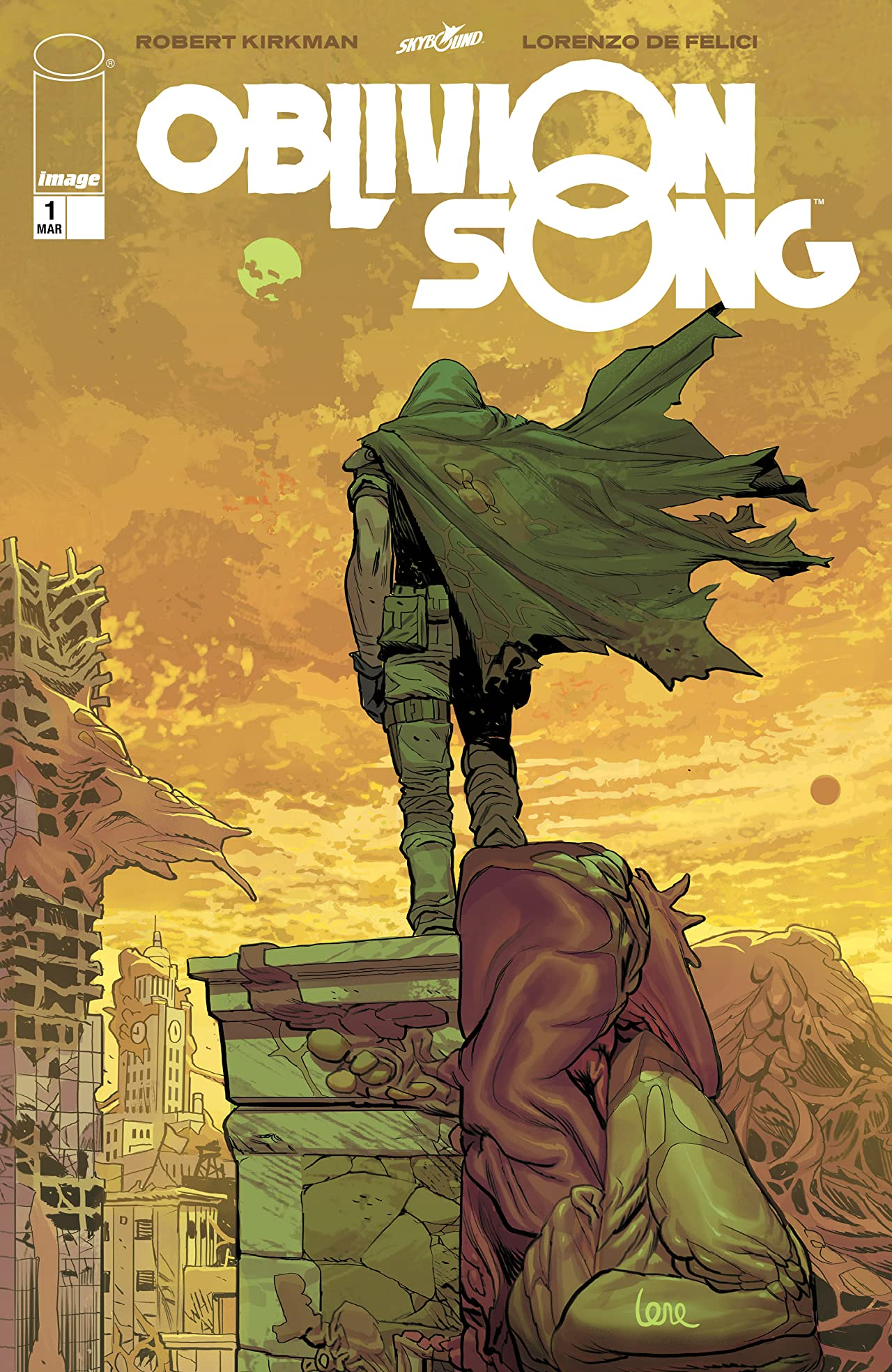 Oblivion Song By Kirkman & De Felici No.1
