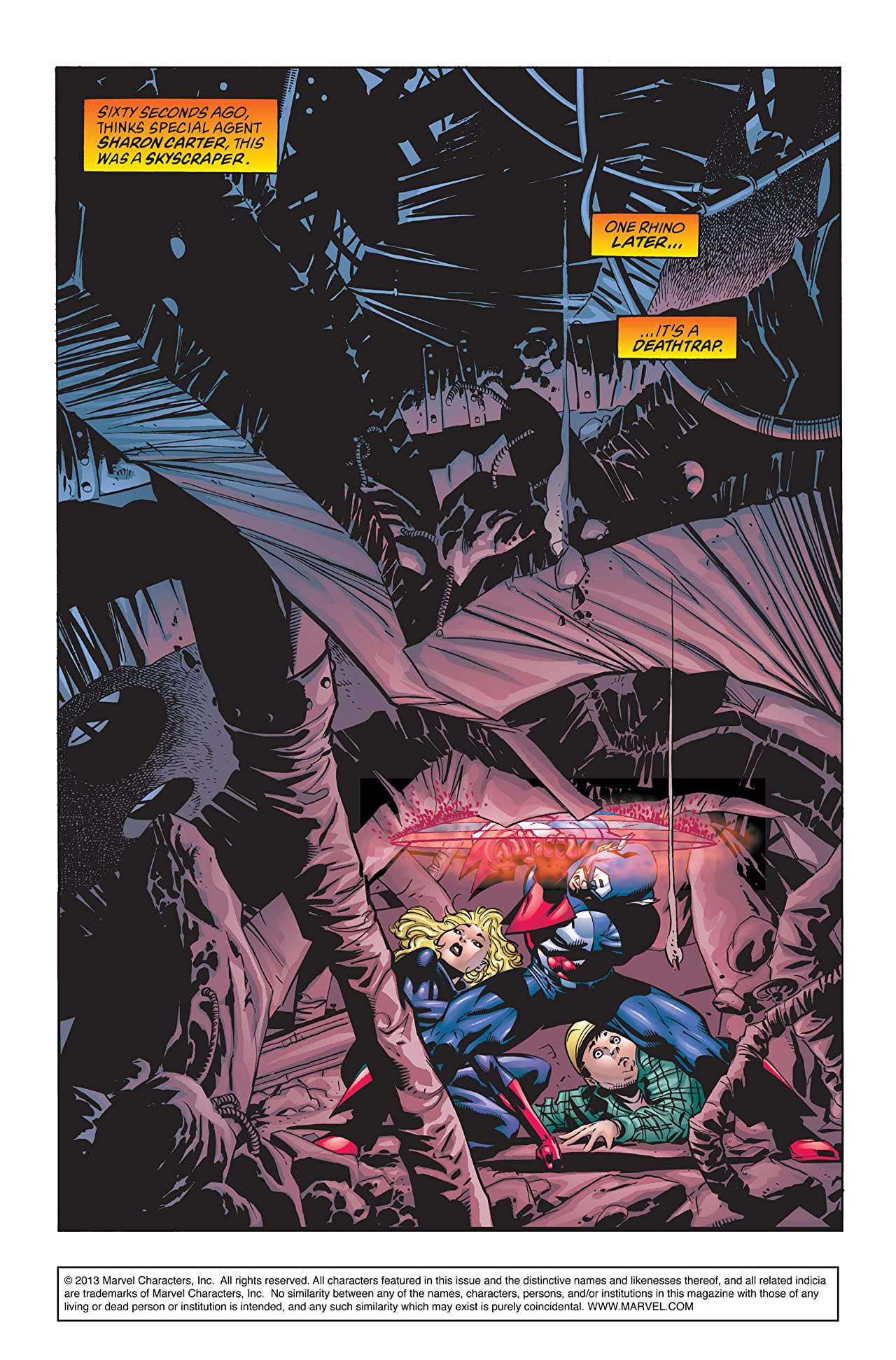 Captain America (1998-2002) #10