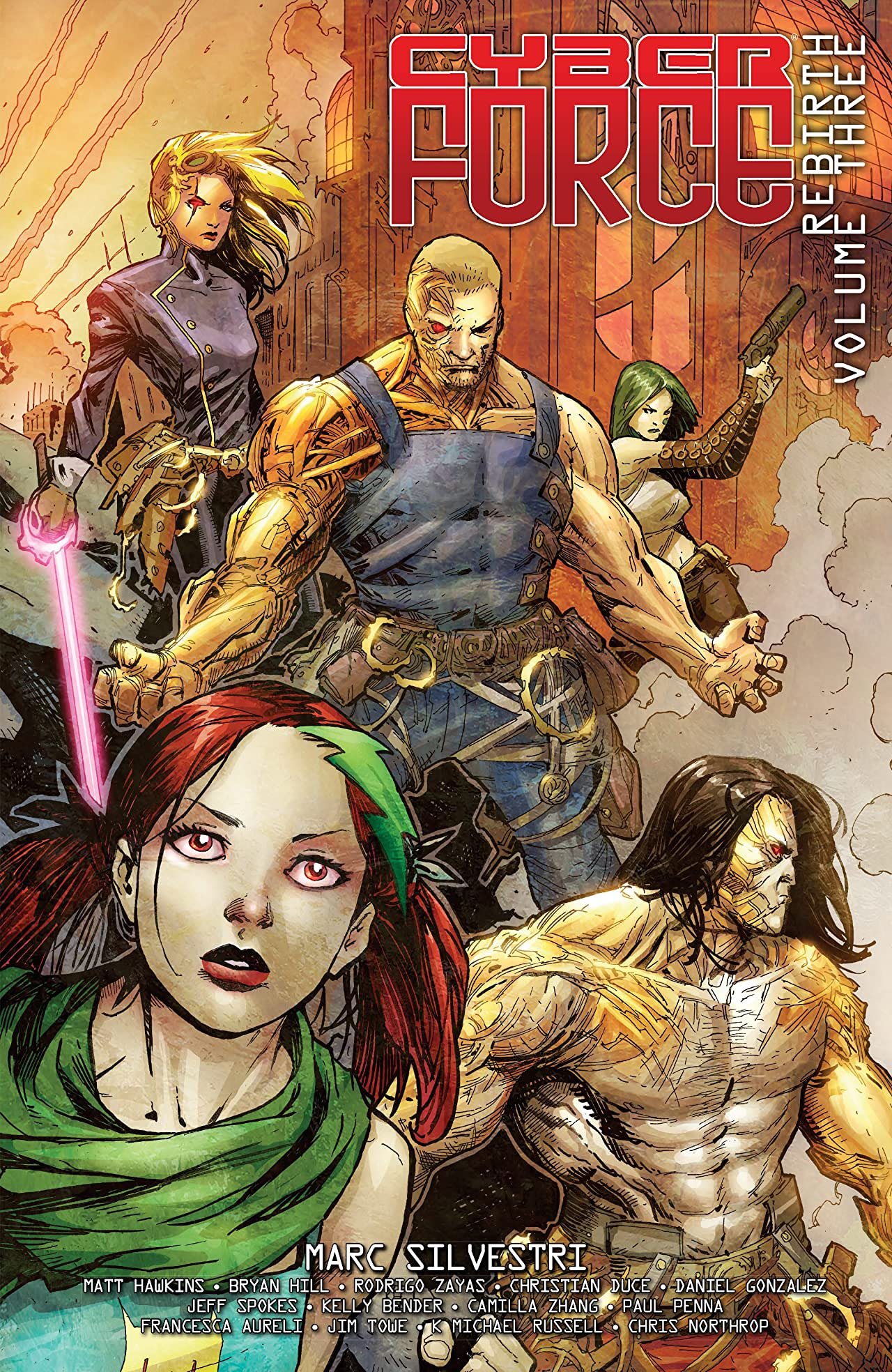 Cyber Force: Rebirth Vol. 3: Artifacts