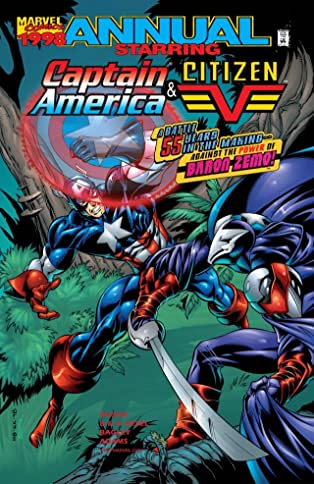 Captain America & Citizen V Annual 1998