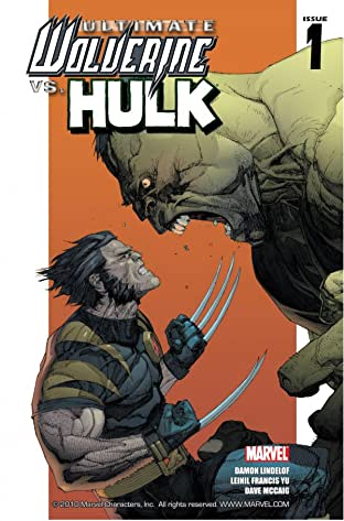 Ultimate Wolverine Vs. Hulk #1 (of 6)