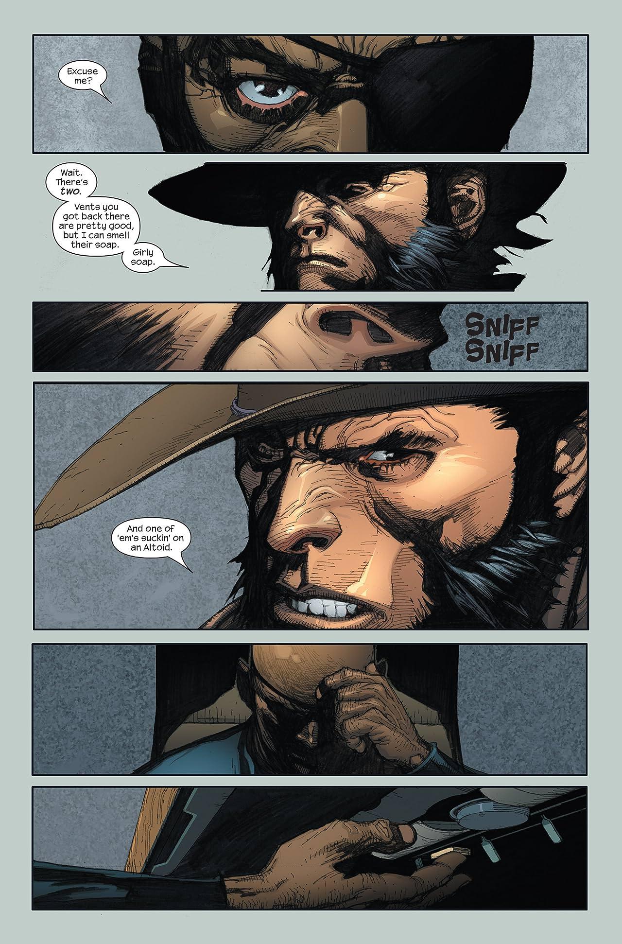 Ultimate Wolverine Vs. Hulk #1 (of 6)